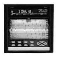 アズビル ハイブリッド記録計 1/2/3/4ペンモデル SRー101AN4YNNN SR-101AN4YNNN 1個(直送品)