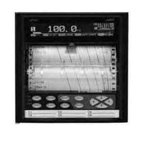 アズビル ハイブリッド記録計 6打点モデル SR-106ANADNNP 1個(直送品)