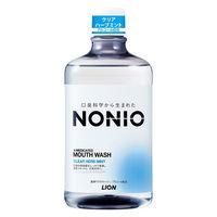 NONIO(ノニオ) マウスウォッシュ クリアハーブミント 1000ml 殺菌 口臭予防 大容量 ライオン 洗口液