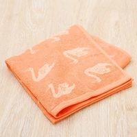 【アウトレット】【30%OFF セール】ミニバスタオル ジャガード ピンク Lady Swan 1枚 抗菌防臭加工 ロハコ(LOHACO)オリジナル