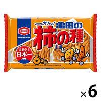 亀田製菓 亀田の柿の種6袋詰 1セット(190g×6袋)