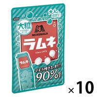森永製菓 大粒ラムネ 1箱(10袋入)