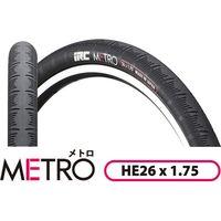 井上ゴム工業 メトロ ブラック(26×1.75) M-119(直送品)