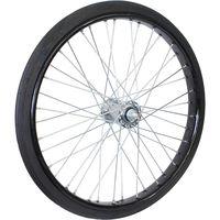 オオシマ 26×2 1/2 ノーパンクタイヤ付リムセット 組付 ブラック 4510676919026(直送品)