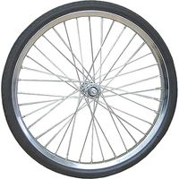 オオシマ 20×2.125 ノーパンクタイヤ付リムセット 組付 20×2.125 4510676919057(直送品)