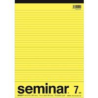 オキナ セミナーレポート A4 7ミリ 横罫 SPA47Y 1セット(3冊)(直送品)