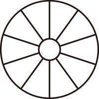 平野製作所 キュウリカッター用交換刃芯抜き 10分割用 6121010(直送品)