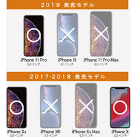 iPhone 11 Pro 5.8インチ X/XS 保護 フィルム 全面 超 衝撃吸収 傷修復 指紋防止 エアーレス 透明 PM-A19BFLPKRG(直送品)