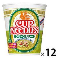 日清食品 カップヌードル グリーンカレー 1ケース(12食入)