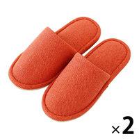 外縫い ベーシック オレンジ M