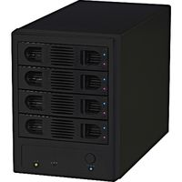 FFF SMART LIFE CONNECTED HDD TOWER 4 USB3.0/eSATA対応SATA専用3.5インチ外付けHDDケース(直送品)