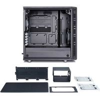 Fractal Design Define Mini C Black Tempered Glass FD-CA-DEF-MINI-C-BK-TG(直送品)