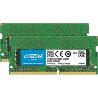クルーシャル 4GB Kit(2GBx2)DDR4 2400 MT/s(PC4-19200)CL17 SR x16 CT2K2G4SFS624A(直送品)