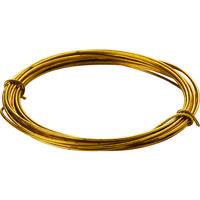 トラスコ中山(TRUSCO) TRUSCO 真鍮線 線径0.55mmx約7m TBW-24 1セット(5巻) 165-6343(直送品)