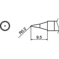 白光(HAKKO) 白光 こて先 I型 T36-I 1本 164-1330(直送品)