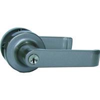 大黒製作所 AGENT LP-100 取替用レバーハンドル 1スピンドル型 鍵付用 AGLP100000 1セット 131-9513(直送品)