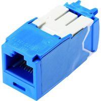 パンドウイットコーポレーション(PANDUIT) パンドウイット カテゴリ6A モジュラージャック 青 CJ6X88TGBU 1個 825-7235(直送品)