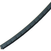 パンドウイット 自在ブッシュ スリット付き・ロールタイプ 耐候性黒 GEE36F-C0 814-6651(直送品)