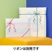 マルシェバッグ 筋入りクラフト紙ホワイト M 1袋(200枚入) 今村紙工 【紙袋】
