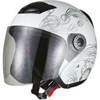 BRC ヘルメット グラフィックジェットヘルメット ホワイト A-225 7210(直送品)