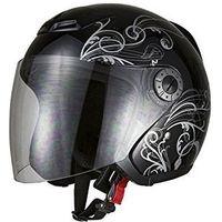 BRC ヘルメット グラフィックジェットヘルメット ブラック A-225 7211(直送品)