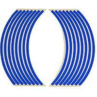 バイクパーツセンター リムステッカー 12インチ用 ブルー 青 901812(直送品)