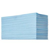 イデアス 抗菌カウンタークロス ブルー 1パック(100枚入)