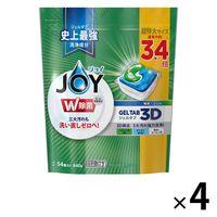 ジョイ JOY ジェルタブ3D 超特大 1箱(4パック入) 食洗機用洗剤 P&G