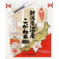 サニーフーズ 魚沼産100%生切餅 KC48P1307A 1セット(400g×20袋)(直送品)