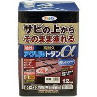 アサヒペン AP 油性高耐久アクリルトタンα 12KG 新茶 9018293(直送品)