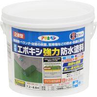 アサヒペン AP 水性エポキシ強力防水塗料2kgホワイト 9018361(直送品)