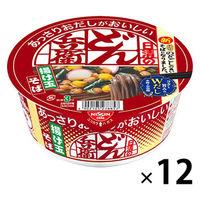 日清食品 日清のあっさりおだしがおいしいどん兵衛 揚げ玉そば 1箱(12食入)