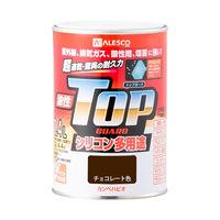 油性トップガード チョコレート色 0.4L #00017640241004 カンペハピオ(直送品)