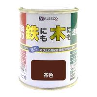 1回塗りハウスペイント 茶色 0.1L #00027640041001 カンペハピオ(直送品)