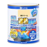 水性シリコン遮熱屋根用 新クリーム 1.6L #00377655031016 カンペハピオ(直送品)