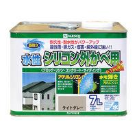 水性シリコン外かべ用 ライトグレー 7L #00427650651070 カンペハピオ(直送品)