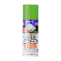 水性シリコンカラースプレー ジェムグリーン 420ML #00507650862420 カンペハピオ(直送品)