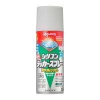 油性シリコンラッカースプレー シルバーメタリック 300ML #00587644342300 カンペハピオ(直送品)