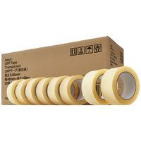 「現場のチカラ」OPPテープ 無包装タイプ 0.05mm厚 48mm×100m 透明 アスクル 1箱(50巻入)