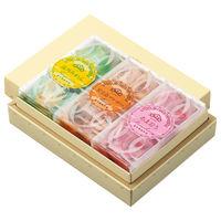 榮太樓總本鋪 果汁飴 1箱(3本入) 三越の紙袋付き 手土産ギフト 和菓子