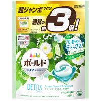 ボールド ジェルボール3D グリーンガーデン&ミュゲの香り 超ジャンボ詰替 1個(44粒入) P&G