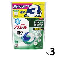 アリエール リビングドライジェルボール3D 超ジャンボ詰替 1セット(3個) P&G
