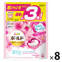 ボールド ジェルボール3D  癒しのプレミアムブロッサムの香り 超ジャンボ詰替 1箱(8個入) P&G