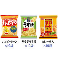 亀田製菓 小袋アソート 1セット(30袋:3種×10袋)