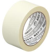 「現場のチカラ」 【養生テープ】 白 幅50mm×50m アスクル 1セット(5巻:1巻×5)