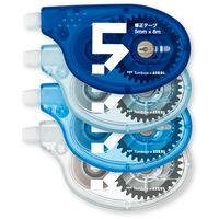 アスクル 修正テープYTA 5mm幅 8m巻 1セット(12個:4個入×3パック)