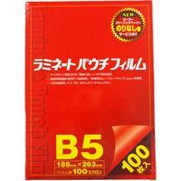 稲進 ラミパック100μ B5サイズ用 SP100188263 1箱(100枚入)(直送品)