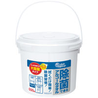 ウェットティッシュ アルコール除菌 大容量本体 1個(600枚入) エリエール除菌できるアルコールタオル 大王製紙