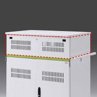 サンワサプライ タブレット収納保管庫用追加収納ボックス(44台収納タイプ用) 幅880×奥行590×高さ225mm CAI-CABBOX44 1台 (直送品)
