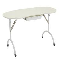 フィフティ・ヴィジョナリー 折り畳みネイルテーブル(キャスター付) FV-2020(直送品)